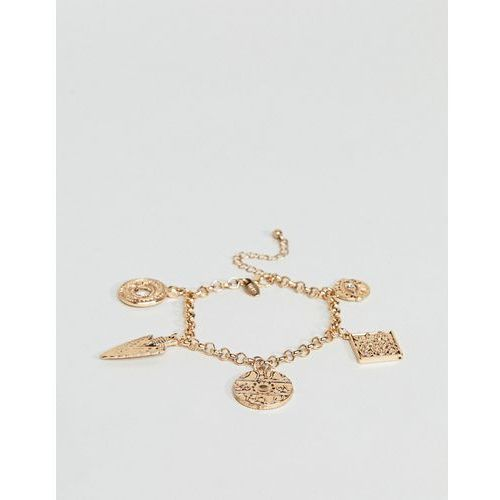 Liars & Lovers Gold Charm Bracelet - Gold