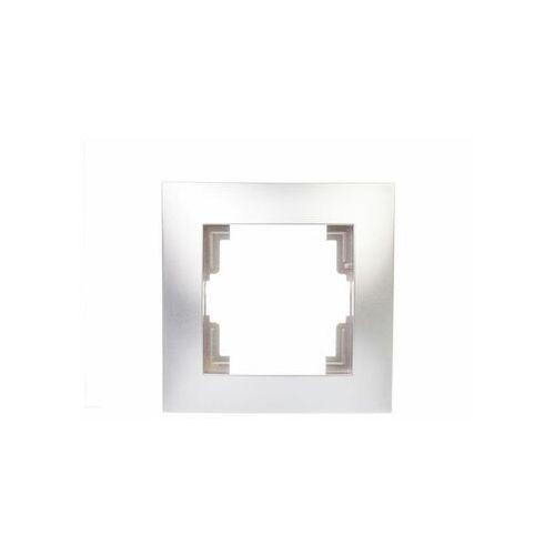CARLA ramka 1x 1771-06, kolor srebrny