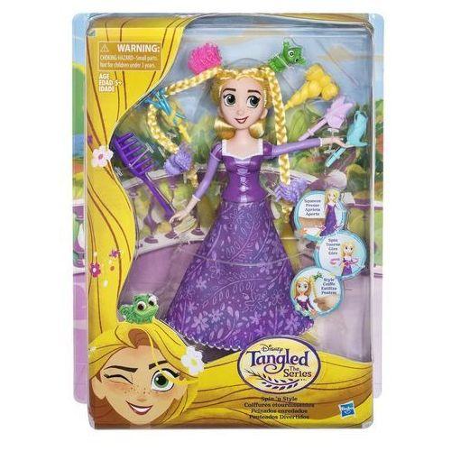 Hasbro Disney princess, zaplątani - szalone fryzury roszpunki -