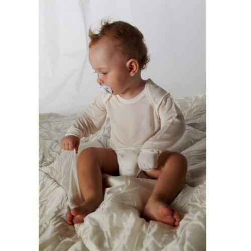 DERMASILK - Body dla dzieci z wszytymi rękawiczkami 98 cm (24-36 m-cy)