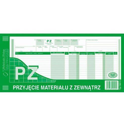 Przyjęcie materiałów z zewnątrz pz michalczyk&prokop 362-2 - 1/3 a3 (wielokopia) marki Michalczyk i prokop