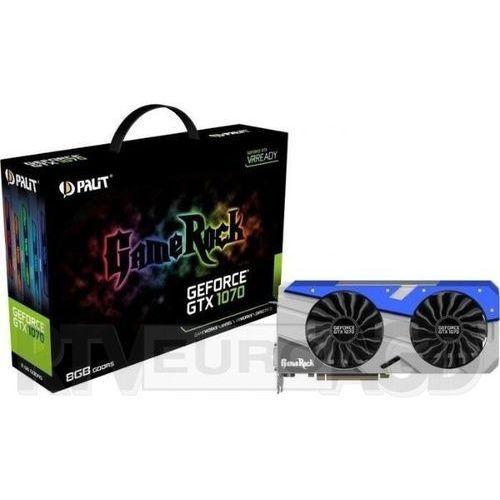 OKAZJA - Palit GeForce Cuda GTX 1070 Gamerock 8GB DDR5 256bit + G-Panel - produkt w magazynie - szybka wysyłka!, NE51070T15P2GP