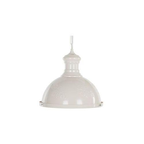 Beliani Lampa wisząca metalowa beżowa didessa (4260624111421)