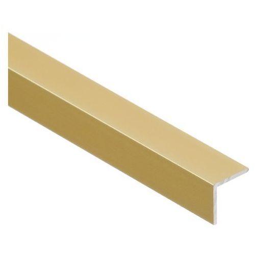 Kątownik Cezar 15 x 15 x 1,5 mm 2 m aluminium złote (5904584866050)
