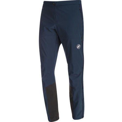 Mammut Aenergy SO Spodnie długie Mężczyźni niebieski DE 52 2017 Spodnie Softshell