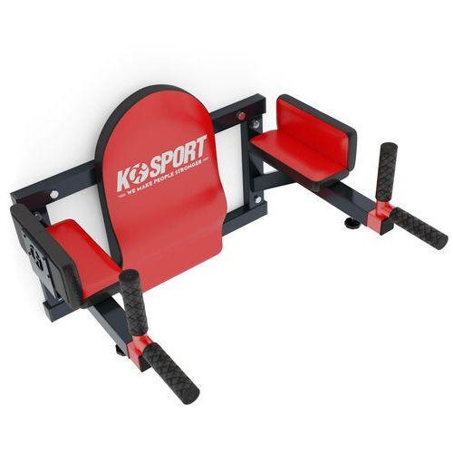 Poręcz treningowa do ćwiczeń mięśni brzucha ścienna wyprofilowana ksh005/sk marki K-sport