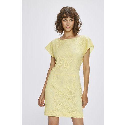 0a1699adaa Suknie i sukienki Kolor  żółty