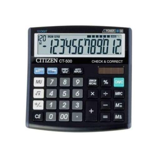Kalkulator CT-500JS - CITIZEN (4562195134183)