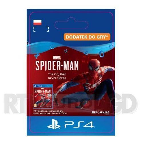 Marvel's spider-man: the city that never sleeps dlc [kod aktywacyjny] marki Sony
