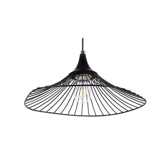 Lampa wisząca metalowa czarna MAZARO, kolor Czarny