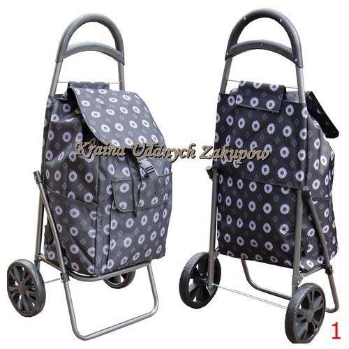 Duży Wózek na Zakupy torba na kółkach na łożyskach