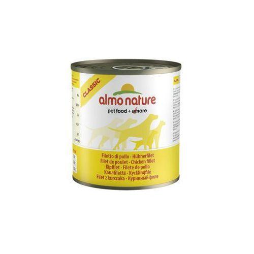 Almo nature  classic dog filet z kurczaka - puszka 280g