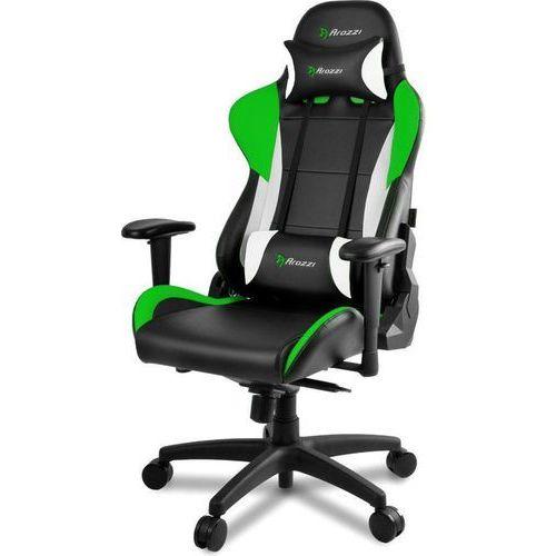 Fotel verona pro v2 czarno-biało-zielony (verona-pro-v2-gn) marki Arozzi