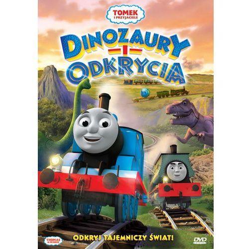 Tomek i przyjaciele. Dinozaury i odkrycia. DVD - produkt z kategorii- Filmy animowane