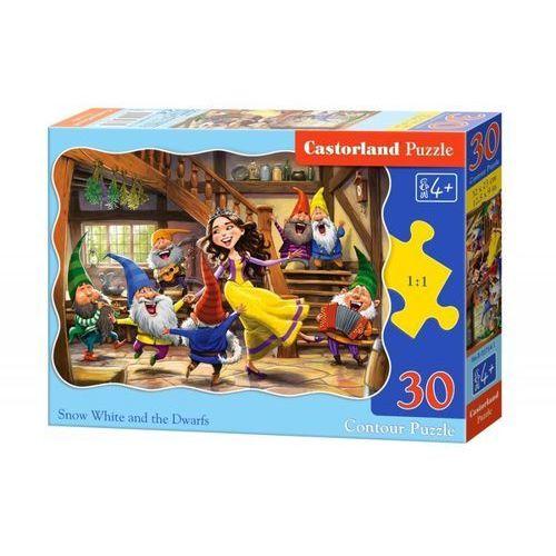Castorland Puzzle 30 snow white and the seven dwarfs