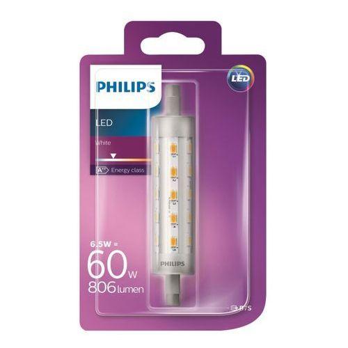 Philips Żarówka led  r7s 6 5 w 118 806 lm przezroczysta barwa zimna (8718696522516)