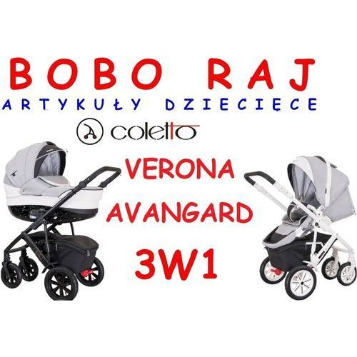 COLETTO VERONA AVANGARD V-04 GŁĘBOKO SPACEROWY+MAXI COSI CITI