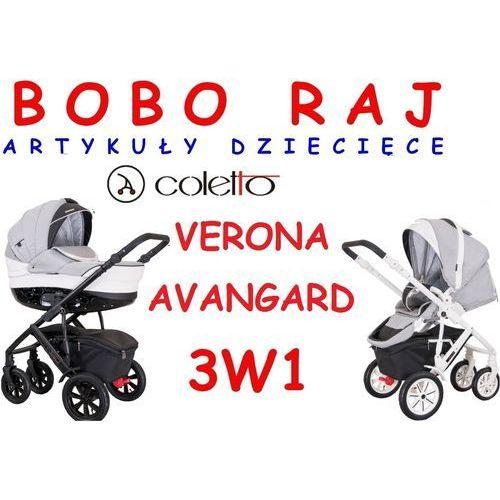 Wózek głęboko spacerowy firmy  model verona avangard +fotelik maxi cosi model pebble marki Coletto