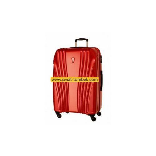 Dielle  model 338 walizka duża 4 koła materiał pet 100% zamek szyfrowy tsa, kategoria: torby i walizki