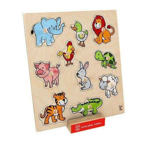 Hape Przyjazne zwierzątka, puzzle e6318