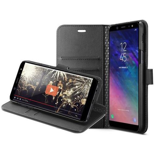 Etui wallet s portfel samsung galaxy a6 2018 black marki Spigen