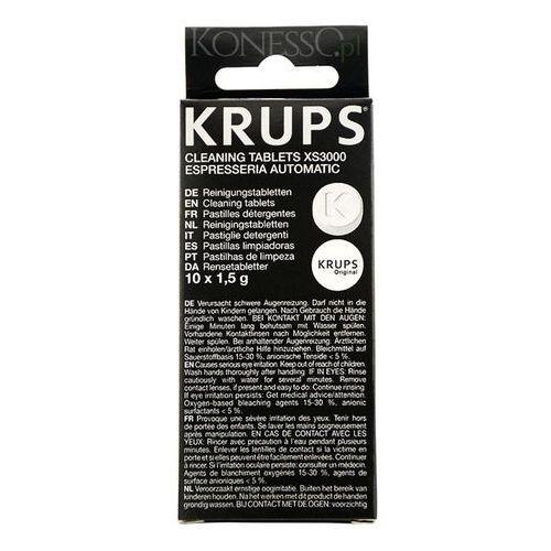 Tabletki czyszczące do ekspresu KRUPS XS3000