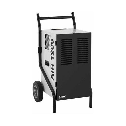 MSW Osuszacz powietrza - przemysłowy - 50 l/24 h - 80 m² MSW-DEH1080A - 3 LATA GWARANCJI