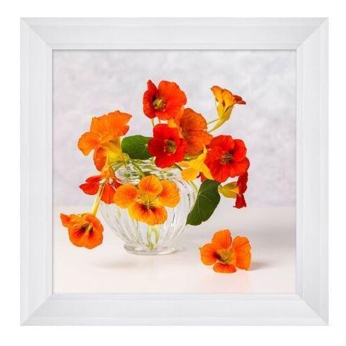 Obraz 30 x 30 cm Pomarańczowe kwiaty