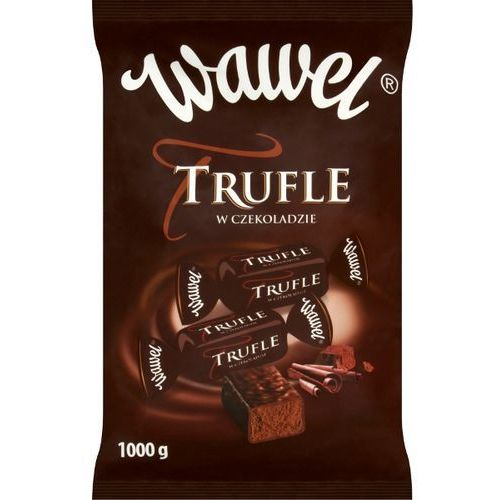 WAWEL 1kg Trufle w czekoladzie Cukierki o smaku rumowym | DARMOWA DOSTAWA OD 150 ZŁ!