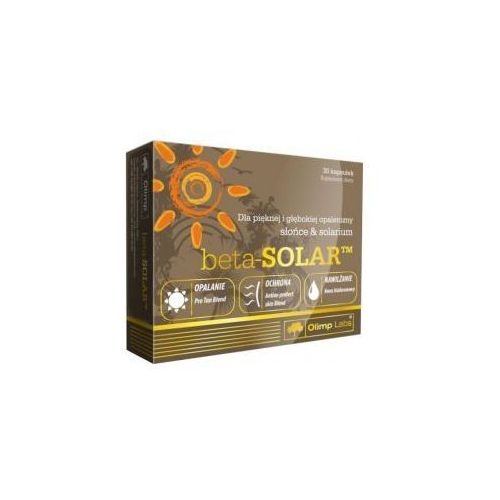 Olimp laboratories Beta- solar, 30 kapsułek