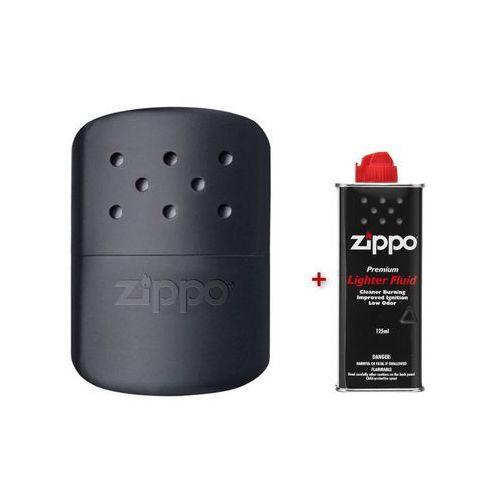 Ogrzewacz do rąk  12h czarny + benzyna wyprodukowany przez Zippo