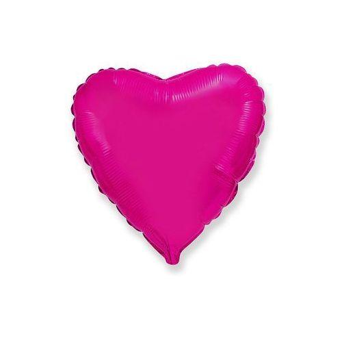Flexmetal balloons Balon foliowy serce różowe - 47 cm - 1 szt.