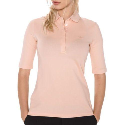 polo koszulka różowy beżowy xs, Lacoste
