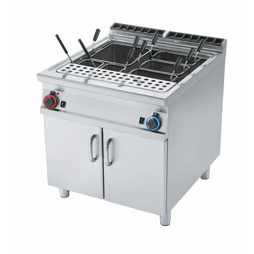 Rm gastro Urządzenie do gotowania makaronu gazowe | 80l | 31500w | 800x900x(h)900mm