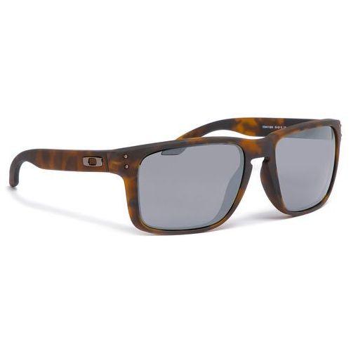 Oakley Okulary przeciwsłoneczne - holbrook xl oo9417-0259 matte brown tortoise prizm black iridium