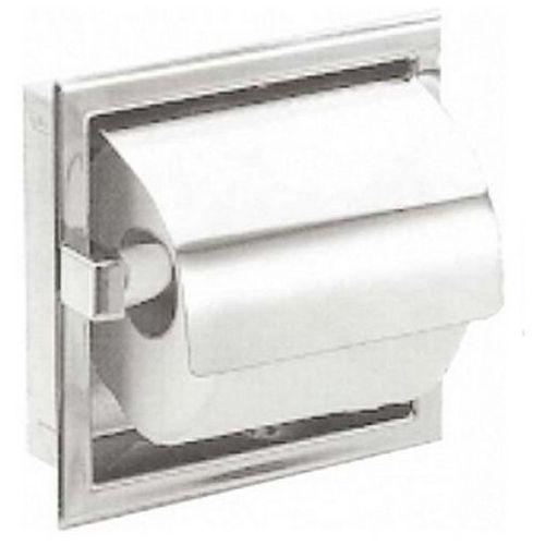 Wnękowy pojemnik na papier toaletowy podwójny | sn p marki Faneco