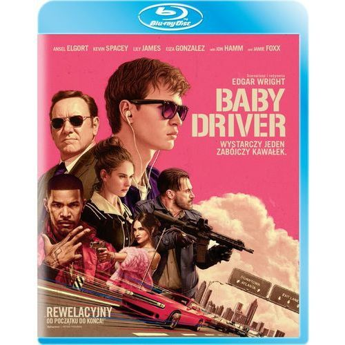 Baby Driver (Blu-ray) - Edgar Wright