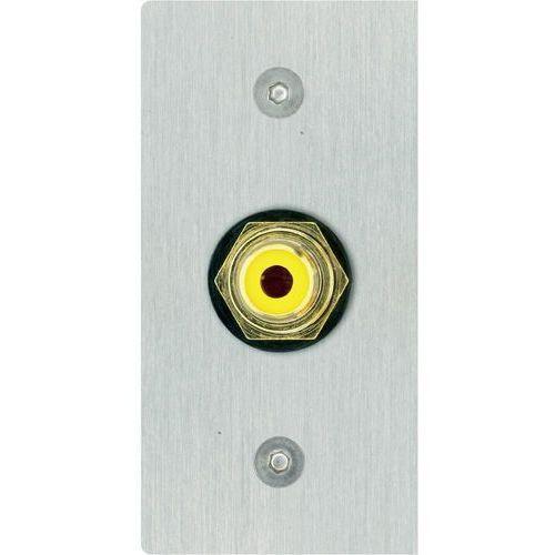 Audio Przejściówka, adapter Inakustik 00980087016 980087016, [1x złącze żeńskie cinch - 1x do lutowania], stali szlachetnej, Wykonanie złącza: proste, Miedź, 00980087016