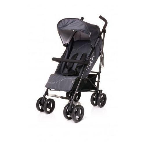 4baby  wave wózek spacerowy spacerówka dark grey, kategoria: wózki spacerowe