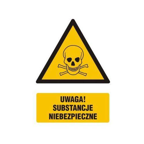 Uwaga substancje niebezpieczne marki Top design
