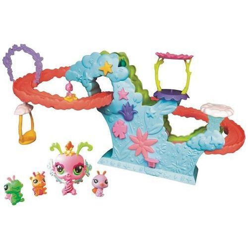 Littlest pet shop podniebne wróżki zestaw rollercoaster 99941 marki Hasbro