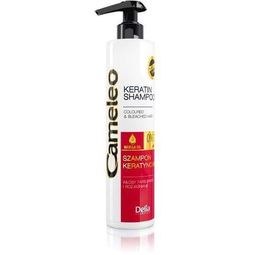 Delia cosmetics cameleo szampon keratynowy do włosów farbowanych 250ml - delia od 24,99zł darmowa dostawa kiosk ruchu