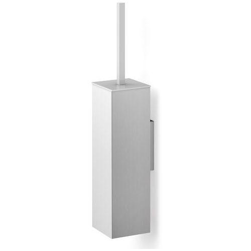 Szczotka do wc carvo zack, wisząca, kwadratowa, stal matowa (40490), 40490