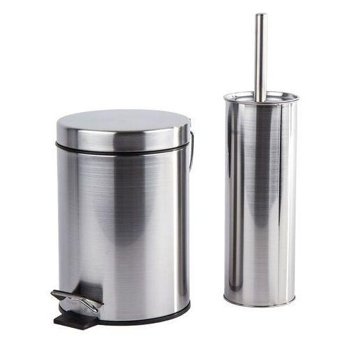 2-częściowy zestaw WC Metal, srebrny, 677146