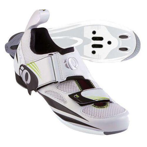 Pearl izumi tri fly iv - damskie buty triathlonowe (biało-czarny)