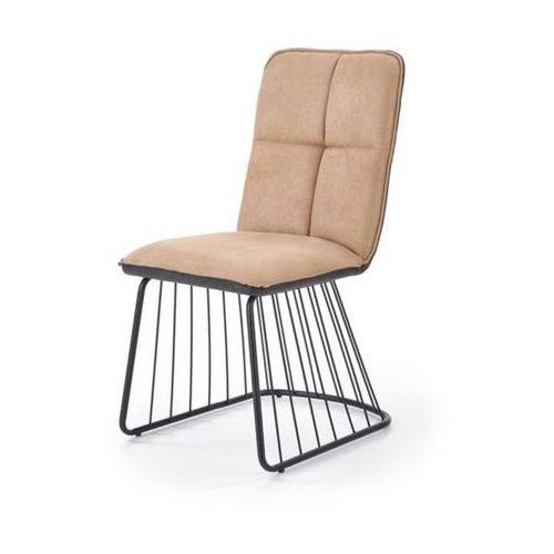 Dover krzesło loftowe jasny brąz/czarny