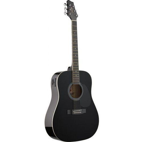 Stagg SW-201 BK VT - gitara elektro-akustyczna