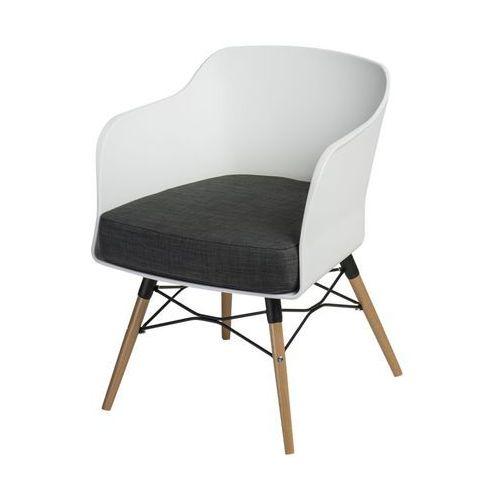 Krzesło Viva - biały ||grafitowy, DII 1