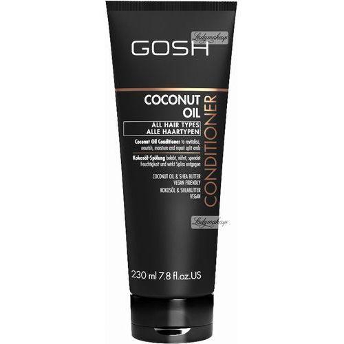 Gosh  - coconut oil - conditioner - odżywka do włosów z olejem kokosowym (5711914104825)