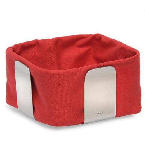 Blomus Bawełniany wkład do koszyka na pieczywo 25,5 cm desa czerwony